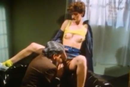 Retro porn - Sharon Mitchell - prison fuck
