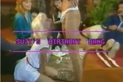 Retro porn - Suzy's birthday bang - 1984