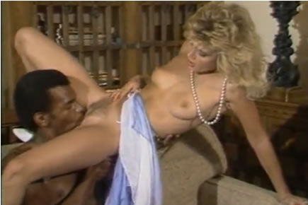 Retro porn - Ginger Lynn interracial