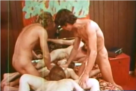 Retro porn - vintage group sex